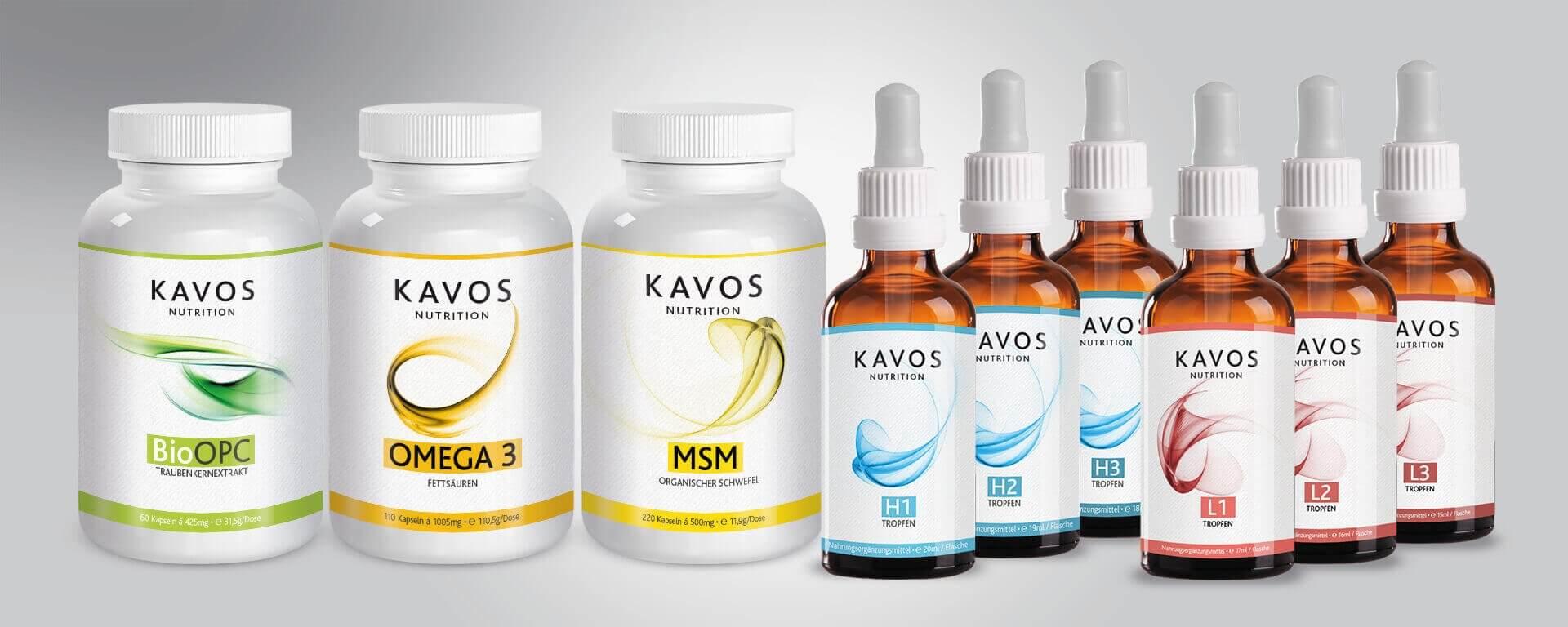 Verpackungsdesign / packaging design für Kavos