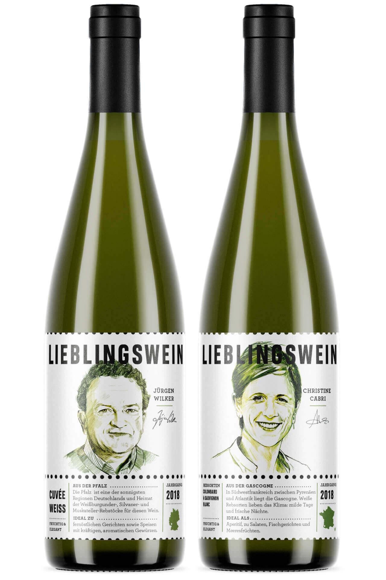 Verpackungsdesign / Packaging Design für Lieblingswein